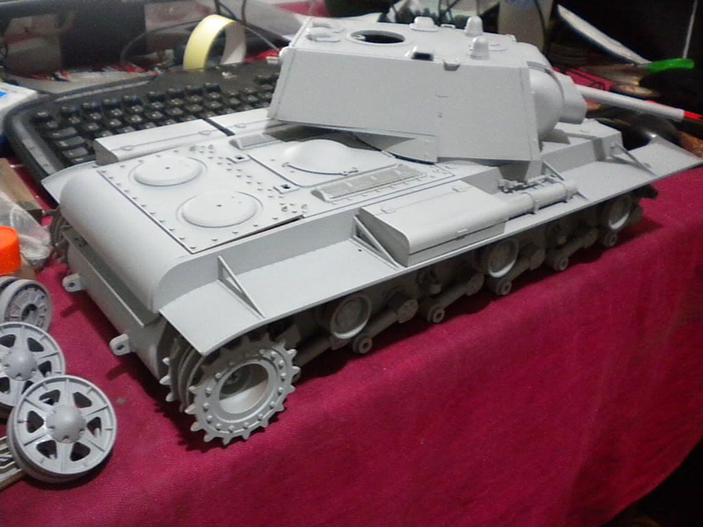 KV-1 1/16 by Tamiya (re-painting) DSCN1635