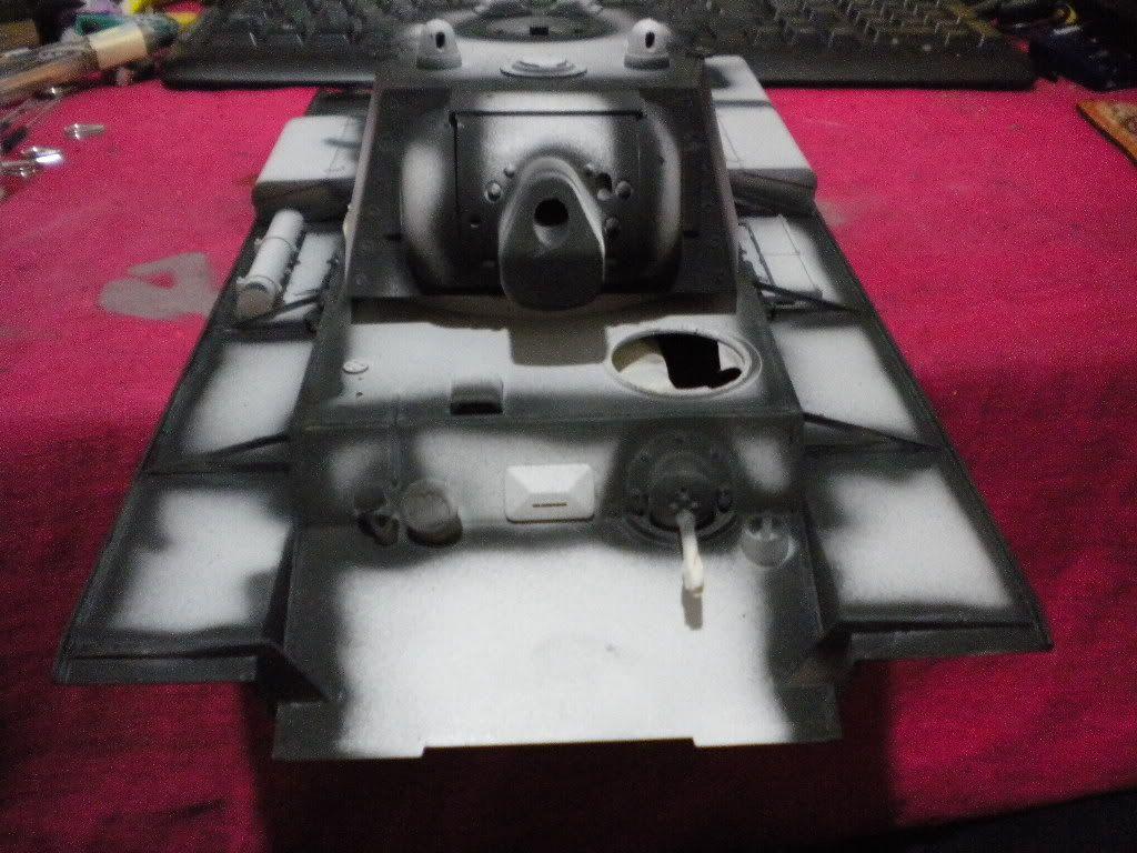 KV-1 1/16 by Tamiya (re-painting) DSCN1640