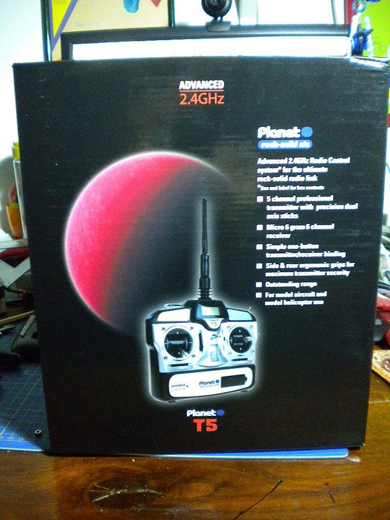 Prime impressioni Planet T5 2,4Ghz 5CH  DSCN2127