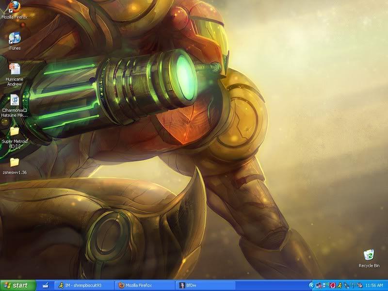Post your Desktop Metroid