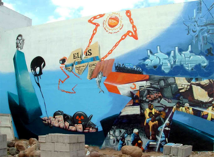 General Graffiti M-LOOMIT-ccanaria