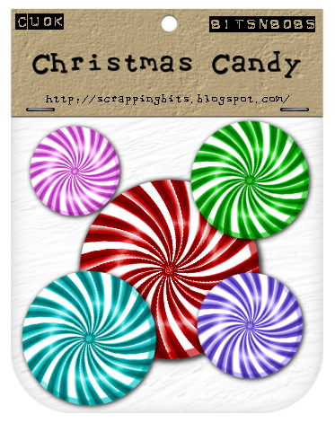 Christmas Candy - By: Bits N Bobs Christmascandysample