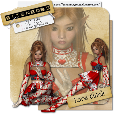 Valentine's Love Chicks - By: Bits N Bobs Love-chick-free-preview