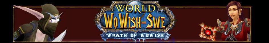 WoWish-Swe Server