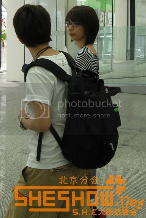 S.H.E @ Beijing Airport 06-05-08 Picture18