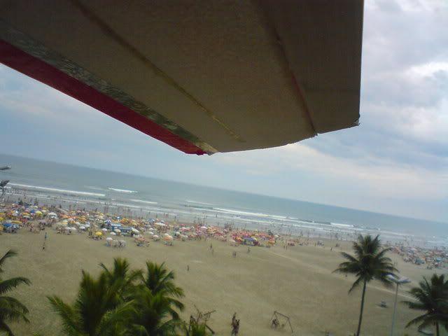 Agora sim, BIGUA  voando na praia Imagem064