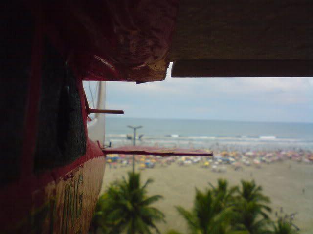 Agora sim, BIGUA  voando na praia Imagem065