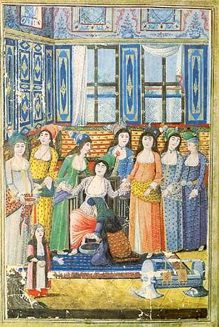 15th century Turkish Women's Clothing 1793-Birth