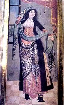15th century Turkish Women's Clothing 1793-Istanbul_Lady