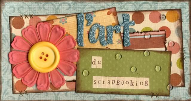 L'art du scrapbooking