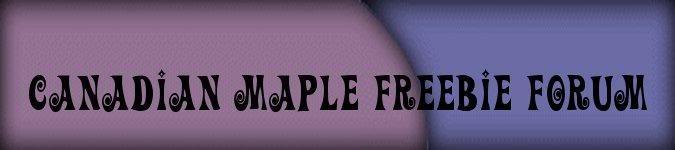 Canadian Maple Freebie Forum