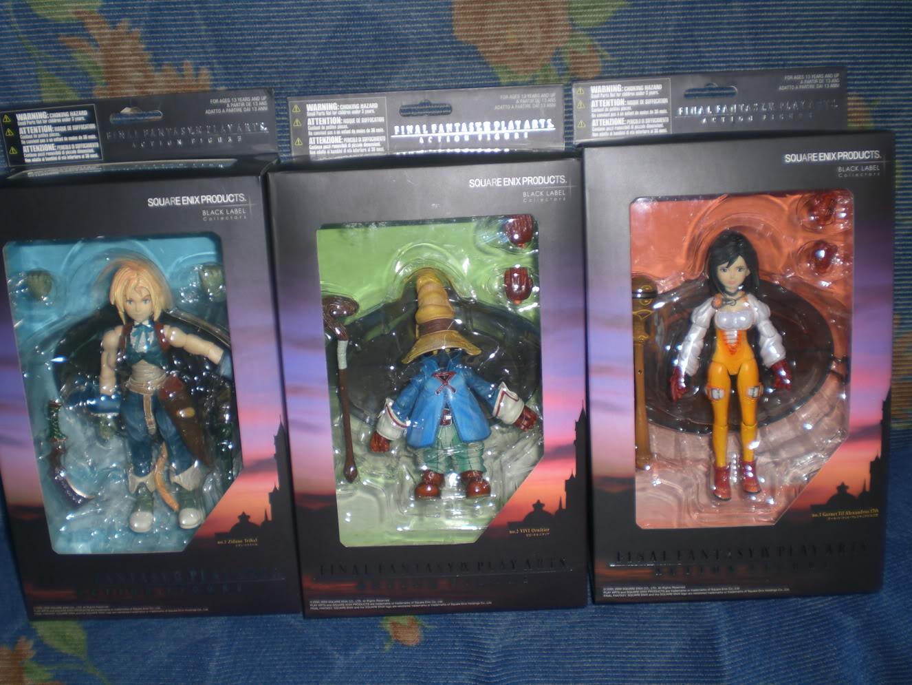 Figurine Final Fantasy 7 renseignements débutant CIMG9023