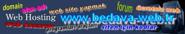 bedava web sitesi yapmak