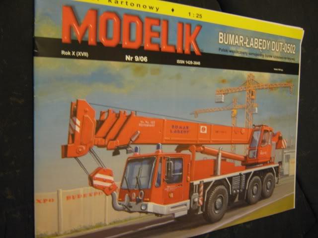 Bumar Labedy Dut 0502 von Modelik in 1:25 Kran1