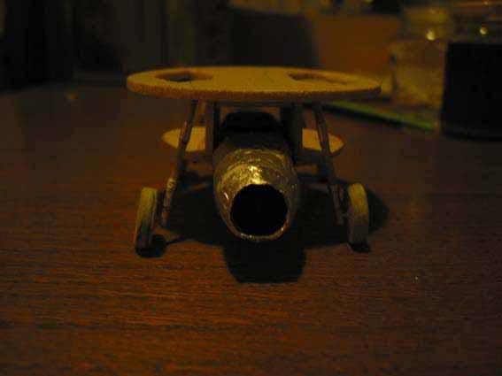 Flugscheibe 1:33 Eigenbau Flgelrad23
