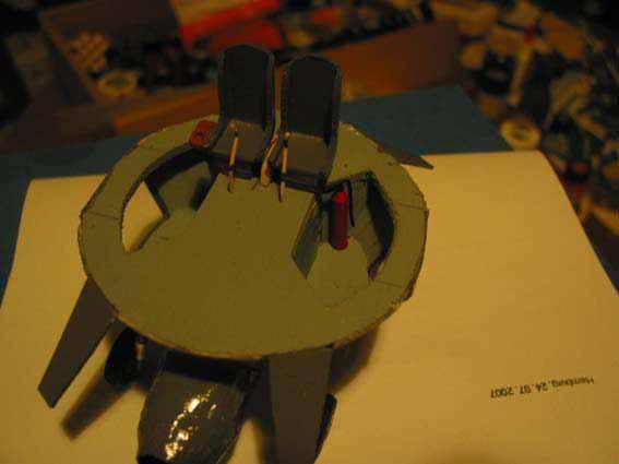 Flugscheibe 1:33 Eigenbau Flgelrad27