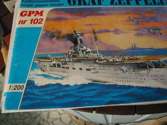 Baustopp!!!Graf Zeppelin von GPM 1:200 Graf
