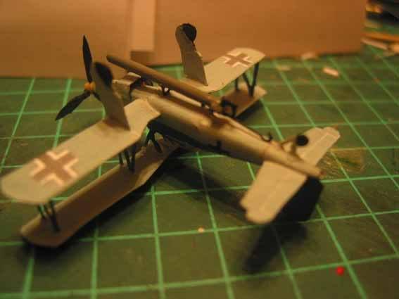 Baustopp!!!Graf Zeppelin von GPM 1:200 Graf122