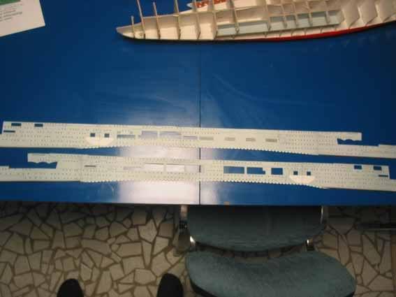 Baustopp!!!Graf Zeppelin von GPM 1:200 Graf41