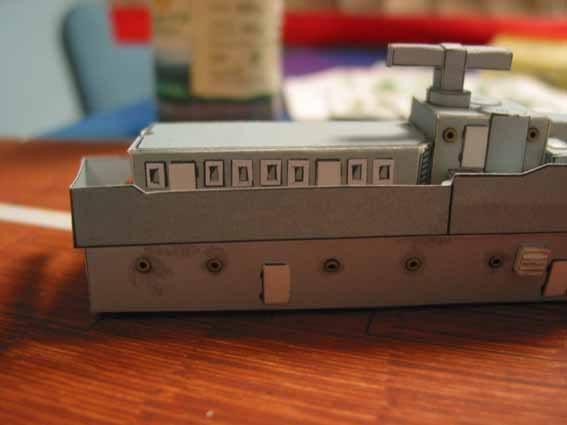 Baustopp!!!Graf Zeppelin von GPM 1:200 Graf45