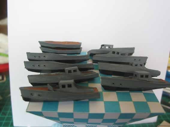 Baustopp!!!Graf Zeppelin von GPM 1:200 Graf90