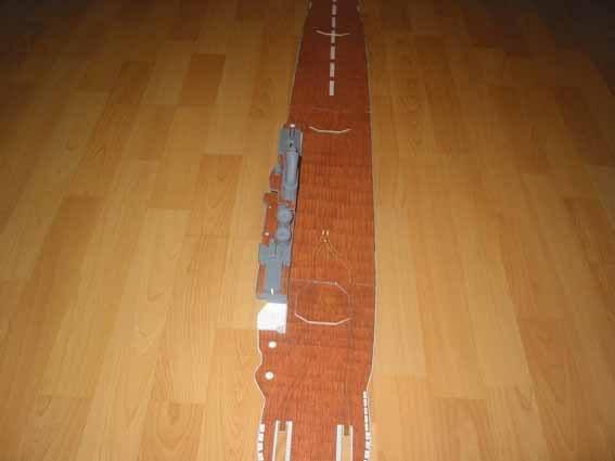 Baustopp!!!Graf Zeppelin von GPM 1:200 Graf92