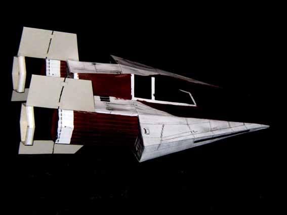 meine Version von einem A-wing Awing2