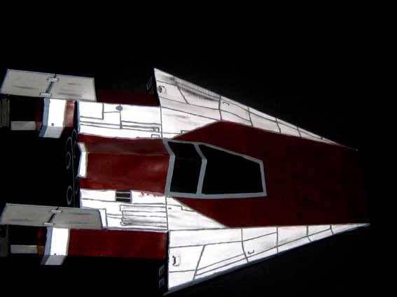 meine Version von einem A-wing Awing4