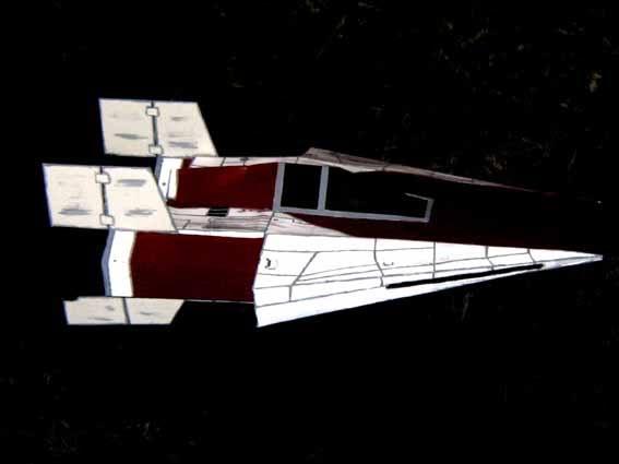 meine Version von einem A-wing Awing6