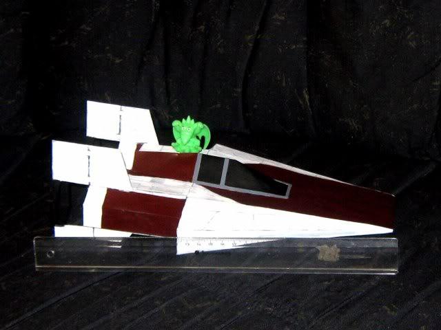 meine Version von einem A-wing Awing7