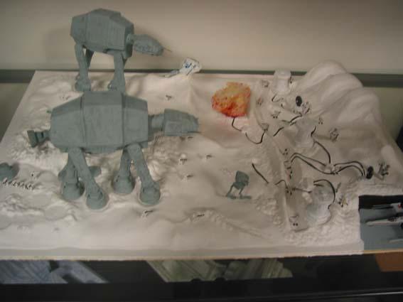 Schlacht auf dem Eisplaneten Starwars1