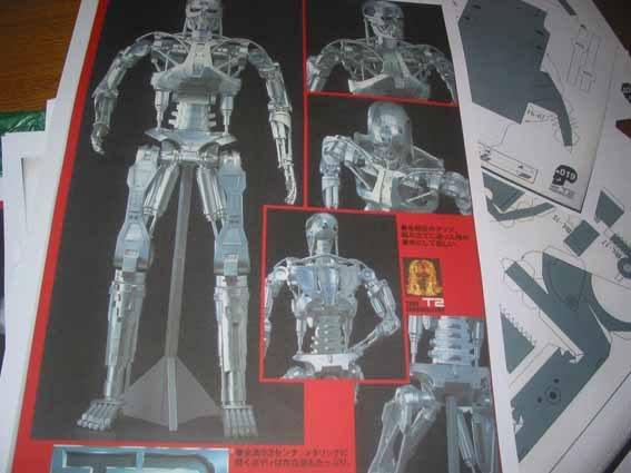 Terminator T-800 Schädel in 1:1 beendet Term28