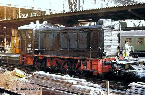 Diesellok V 36 scratchbau 1:35 236-406Frankfurt-Hbf17011978-KlausW