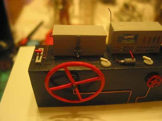 Diesellok V 36 scratchbau 1:35 V3634
