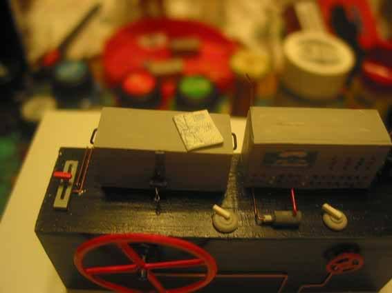Diesellok V 36 scratchbau 1:35 V3635