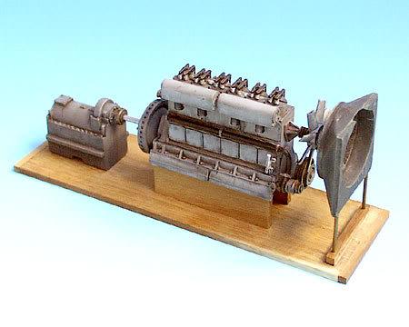 Diesellok V 36 scratchbau 1:35 F35026