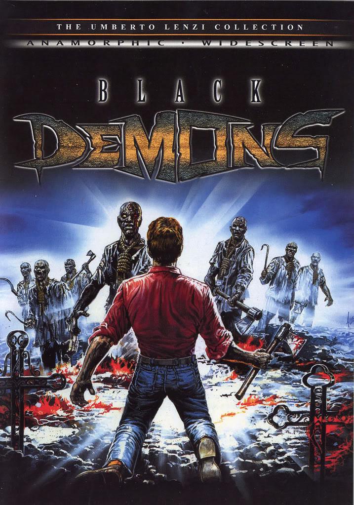 واخيرا فيلم الرعب القديم Demoni 3 1991 aka Black Demons Blackdemonscover