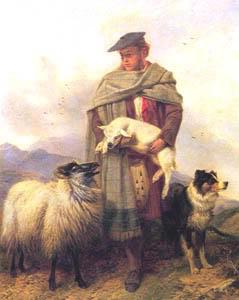 Représentations historiques du kilt AnsdellShepherd-751462