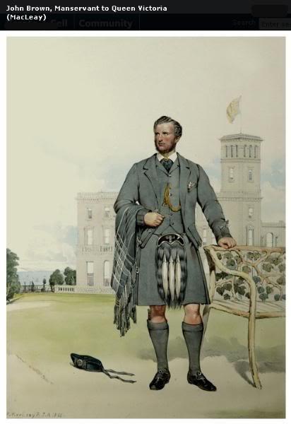 Représentations historiques du kilt Macleay17