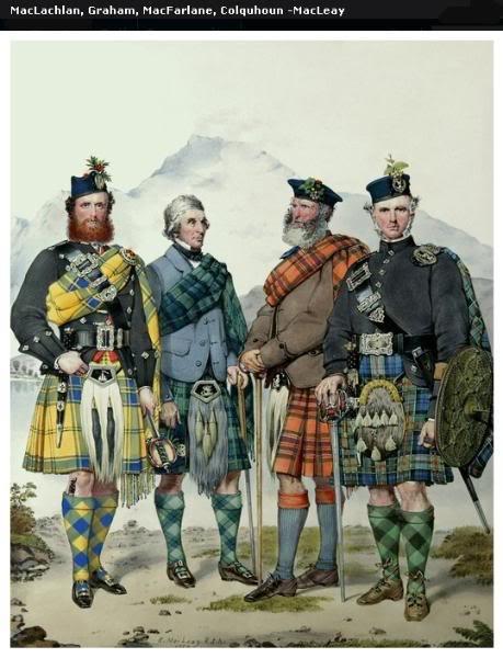 Représentations historiques du kilt Macleay21