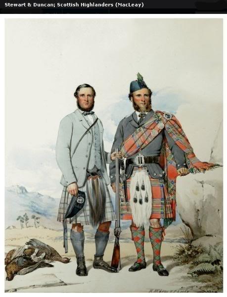 Représentations historiques du kilt Macleay26