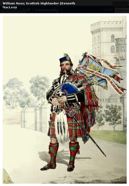 Représentations historiques du kilt Macleay32