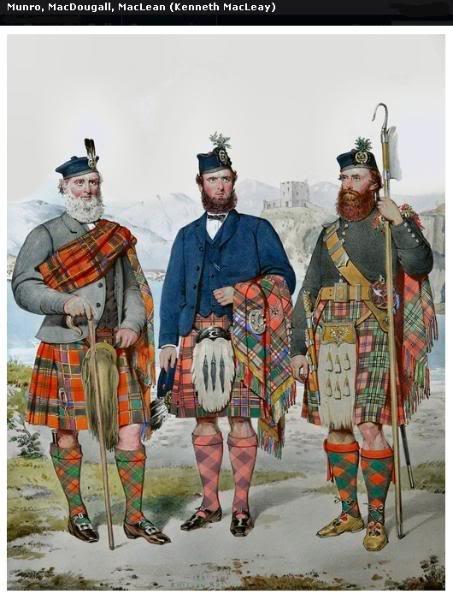 Représentations historiques du kilt Macleay9
