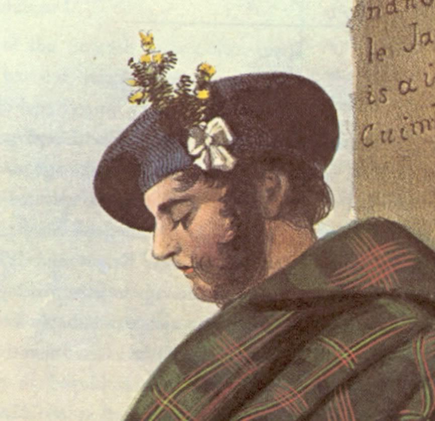 Représentations historiques du kilt Mlm