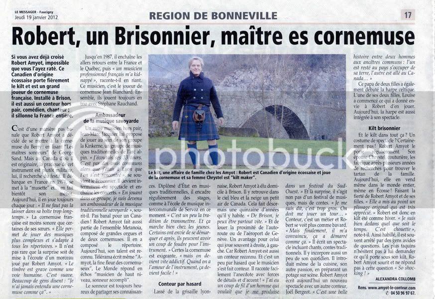 des nouvelles de la Yaute-Savoie ! Pressebonneville