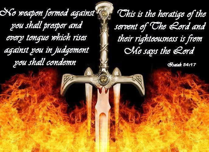 Words of Encouragement Isaiah54-17