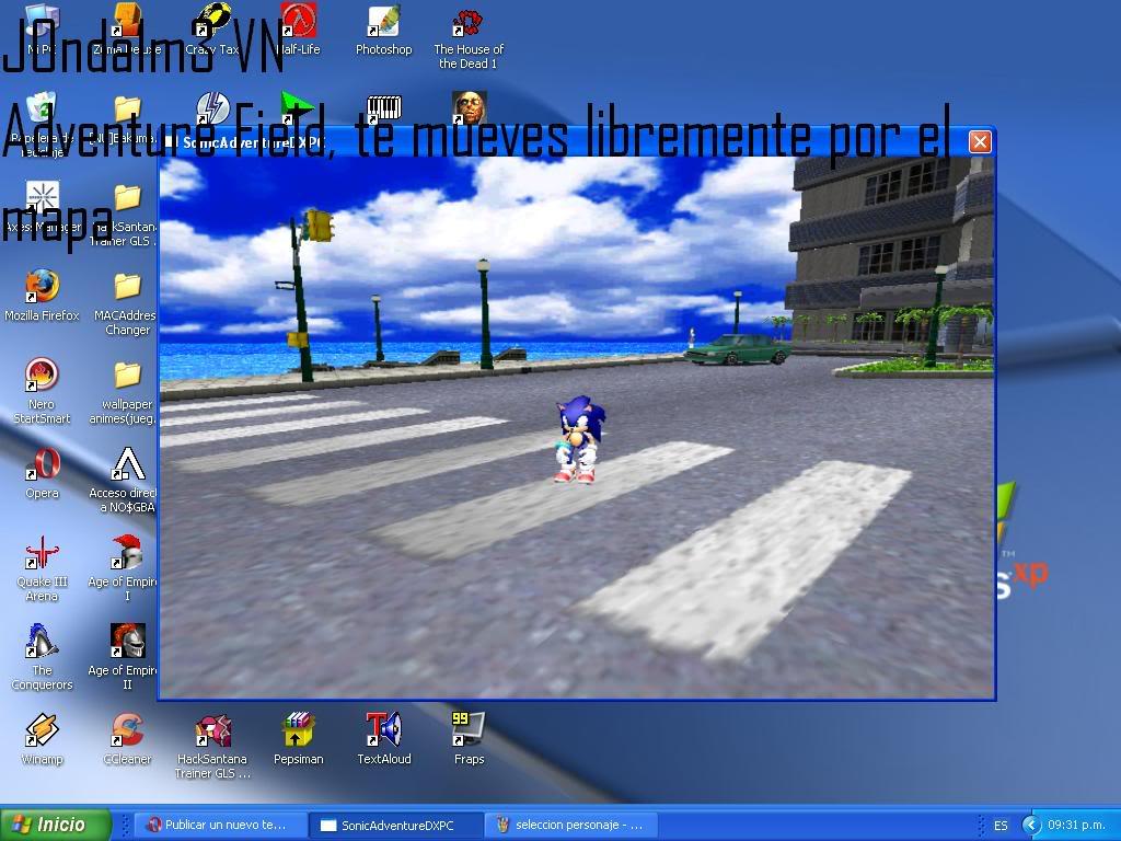 Sonic Adventure DX AdventureFIeld