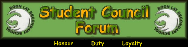Student Council Forum *v2.0 beta* - [Boon Lay Secondary School]