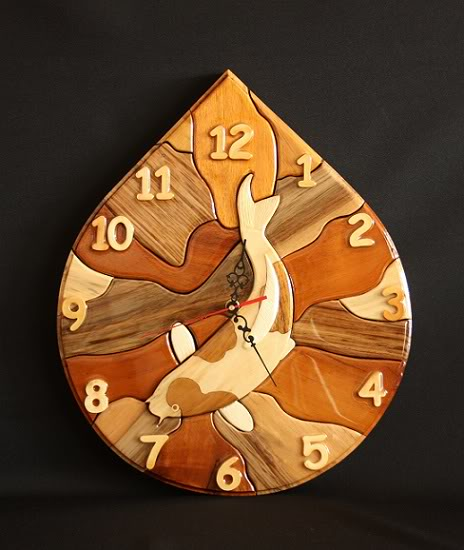 Koi Clocks C16