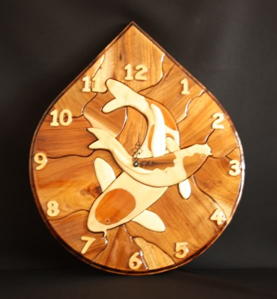 Koi Clocks C17